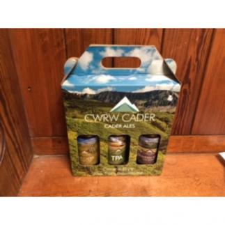 Cader Ales 3 Bottle Gift Box