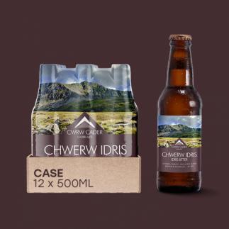 Cader Ales Dolgellau  Idris Bitter 500ml Bottle