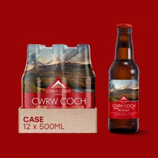 Cader Ales Cwrw Coch Red Bandit 5% abv 500ml