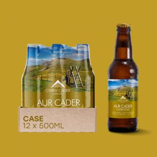 Cader Ales Dolgellau Cader Gold 3.8% abv 500ml Bottle