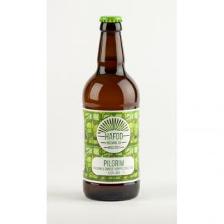 Hafod Pilgrim Pale Ale 4.5%   500ml Bottle