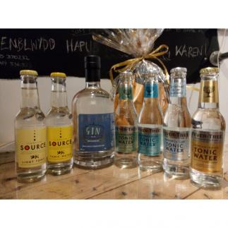 Welsh Gin and Tonic Bouquet/Hamper