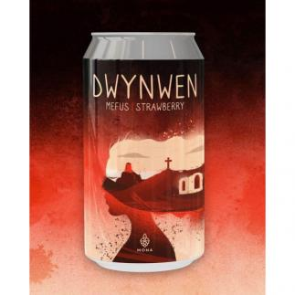 BragdyMona, Dynwen, WelshCraftBeer, CraftBeer, CraftCans, Strawberry Wheat Beer