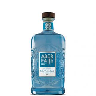 Aber Falls Welsh Gin, 43% ABV, Small Batch, 70cl bottle